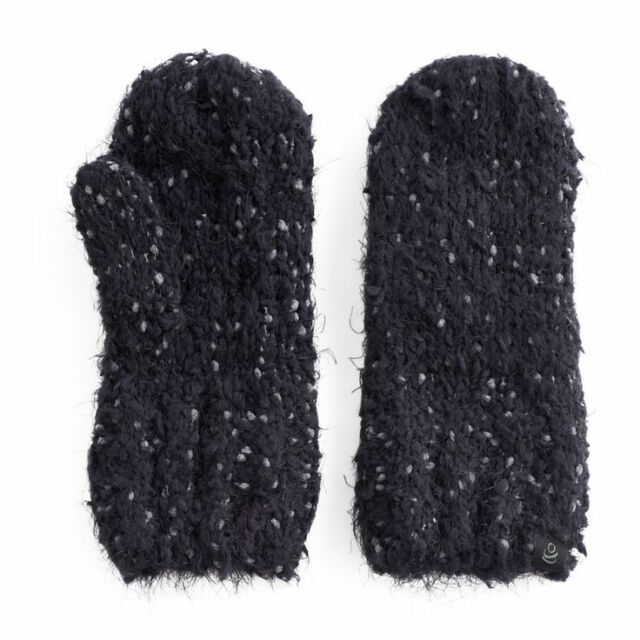 f7cf16ab2 Cuddl Duds Women's Super Soft Knit Mittens One Size Black for sale ...