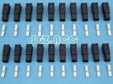 20X 30Amp Connector Anderson Style Plug 12v 24v Fridge Charger Battery Black