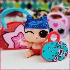 LOL SURPRISE LIL KAWAII Queen GOLD Doll Series 4 Eye Little SISTERS Rare TTUS