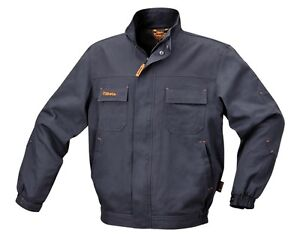 4e8ecd121 Details about Beta Tools 7939GREY Size XS-XXXL Work Jacket Cotton Grey  Workwear