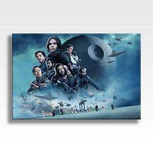 ROGUE-ONE-A-STAR-WARS-STORY-CANVAS-Wall-Art-Poster-30-034-x20-034-canvas