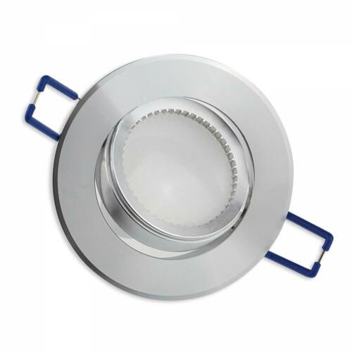 10x DEL installation Projecteurs Set gu10 230 V 1-9 W environ Rectangulaire Spot 70 Mm Forage