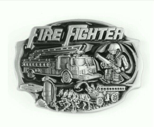 Gürtelschnalle für Gürtel Metall Feuerwehr, Feuerwehrmann, Fire Fighter 4