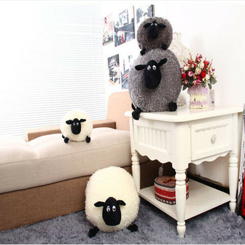 Super Cute Sheep Stuffed Plush Soft Toy Kids Baby Gift Cushion Pillow 30/40/50cm
