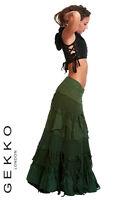 Steampunk Skirt, Flamenco Skirt, Long Skirt, Gypsie Skirt, Steampunk Clothes
