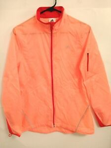 peque de completa as transparente lluvia chaqueta Adidas la activa delgada roja Tama cremallera mujer con o para naranja w5qSx7I6