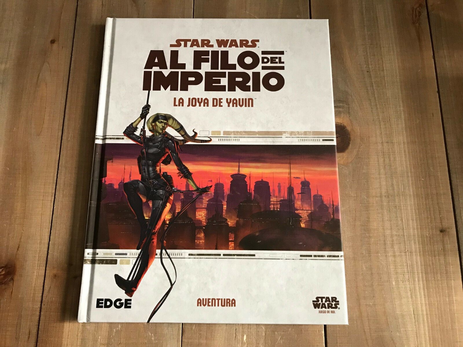 STAR WARS AT THE EDGE OF EMPIRE - Jewel Yavin - set role playing FFG -