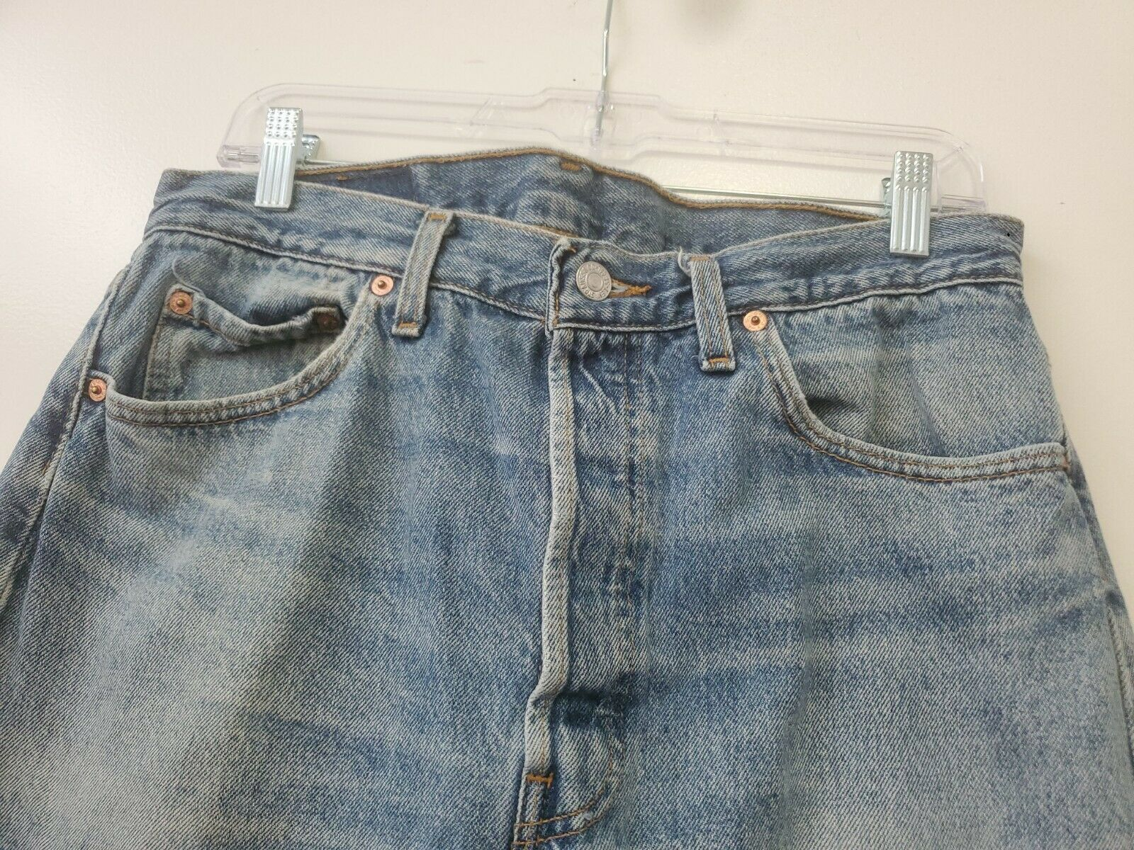 Vintage 501 Levis 34x32 Made In USA - image 2