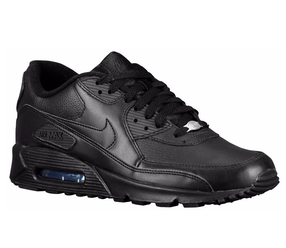 NOUVEAU Nike Air 602519-001 Max 90 Triple Noir 602519-001 Air ltd 3 Mens Chaussures de sport pour hommes et femmes 80a466