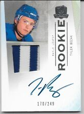 09/10 The Cup Auto Patch Rookie RC Tyler Bozak /249 120 Leafs