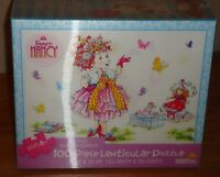 Fancy Nancy Hostess Extraordinaire 100 Piece Lenticular Puzzle By Briarpatch