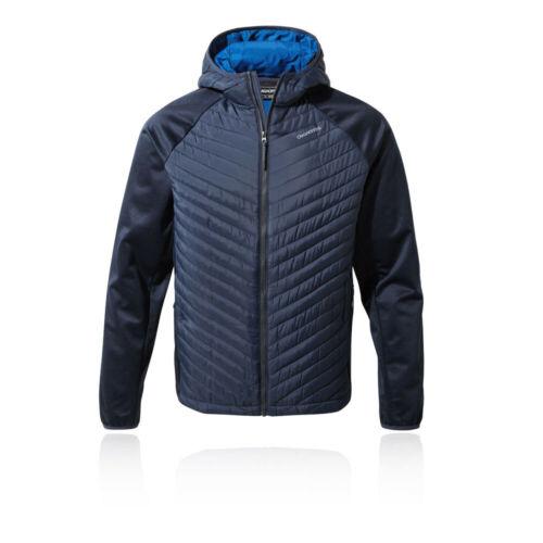 Navy Blue Sports Outdoors Craghoppers Mens Innsbruck Hybrid Jacket Top