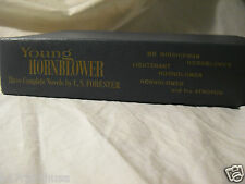 """""""The Young Hornblower"""" C S Forester Three Complete Novels Vintage Book Near Fine"""