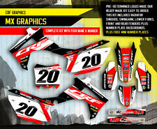 2013 2014 2015 2016 HONDA CRF 450R GRAPHICS KIT CRF450R CRF 450 DECALS