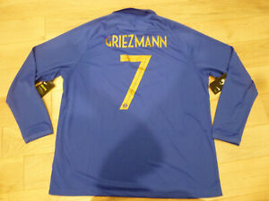 new product 8fc76 4a914 Details about RARE NWT Limited Nike France #7 Antoine Griezmann Centenary  Jersey LARGE XXL