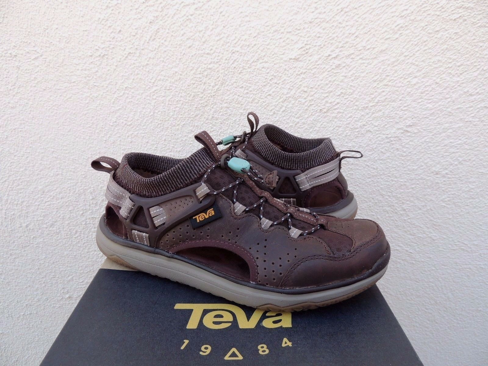 TEVA WP LEATHER TERRA FLOAT TRAVEL LACE  Chaussures  SANDALS, US 5.5/ EUR 36.5 ~NIB