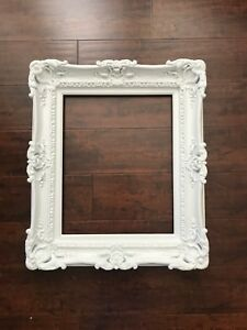 20x24 Large White Frame Shabby Chic Frames For Pictures Art