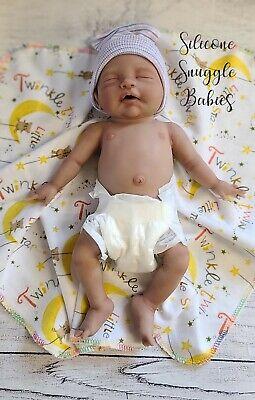 "13/"" Full Body Silicone Baby Girl Doll /""Phoebe/"""