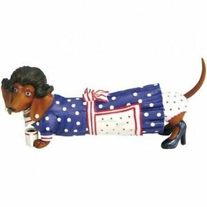 Dachshund Dog 50s Figurine DOXIE Collectible by Westland Giftware 7.5 in Long