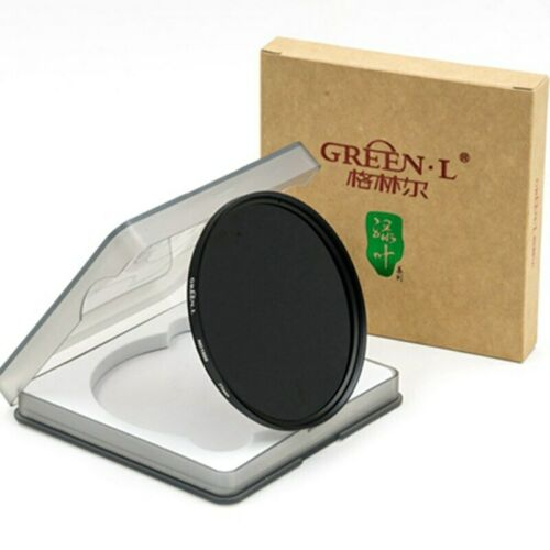 10 stops filter ND3.0 Optical glass Green L 58mm Neutral Density ND1000