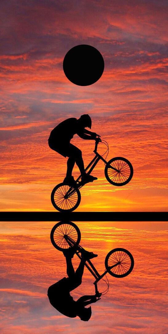 SINGLE- Cornhole Board- Bag Toss wrap - VINYL DECAL SPORTS- BMX BIKE - BIKING
