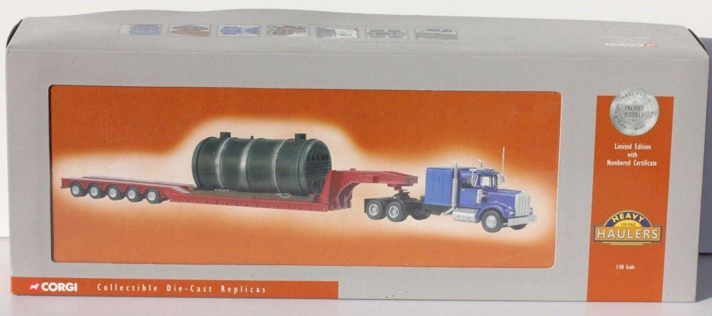 CORGI - TRANSPORTEUR A L'ECHELLE 1 50 - EDITION LIMITEE - ETAT NEUF - 2,5 kg