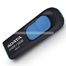 Adata Blue USB 32GB 32G UV128 USB3.0 Flash Drive New Lifetime Warranty