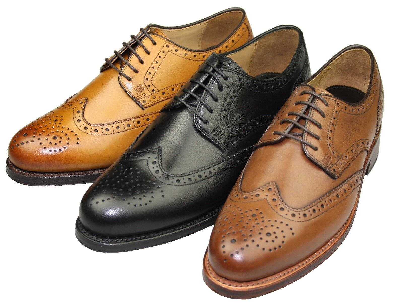 Gordon & Bros. 2318 Levet rahmengenähte Schuhe, Goodyear Welted, Budapester