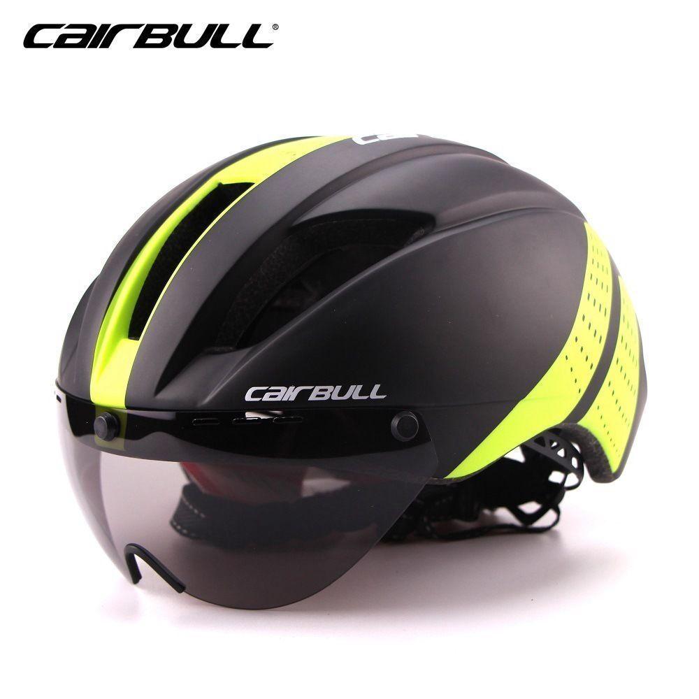 MTB Bike Helmet high-density Mountain Bicycle Cycling Detachable Goggles Visor
