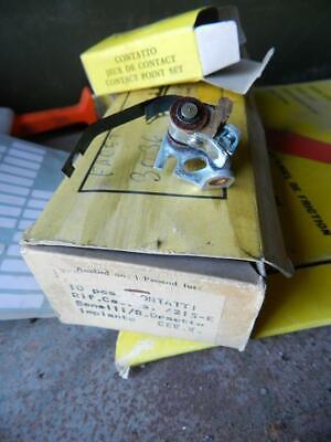 Attento 3036 Facet Contatti Ruttore Puntine Imp.cev Benelli -bianchi Orsetto Rupteur