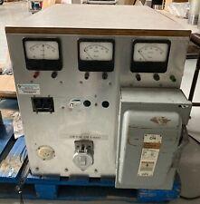 Variac 0 To 280 Vac 3 Ph 50 Amp