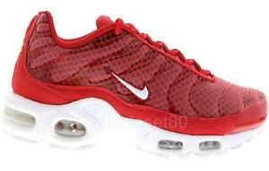 red nike tn trainers