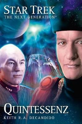 TOP Star Trek The Next Generation 03: Quintessenz Decandido Sciene F. Buch w neu