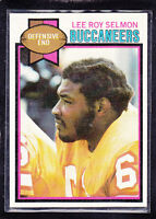 1979 LEE ROY SELMOM - Topps Football Card- # 123 - Tampa Bay Buccaneers - Rare