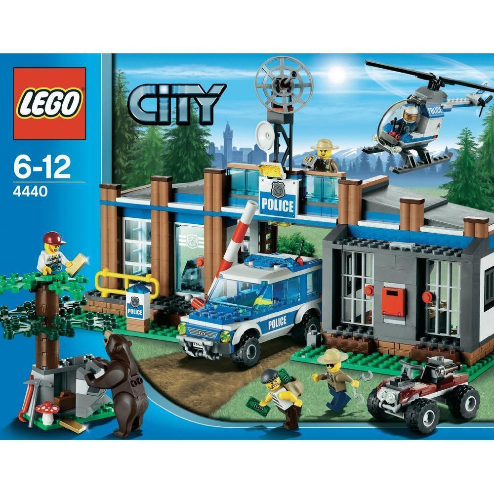 LEGO CITY STAZIONE POLIZIA FORESTALE  RARO NUOVO FUORI PRODUZIONE  ART 4440