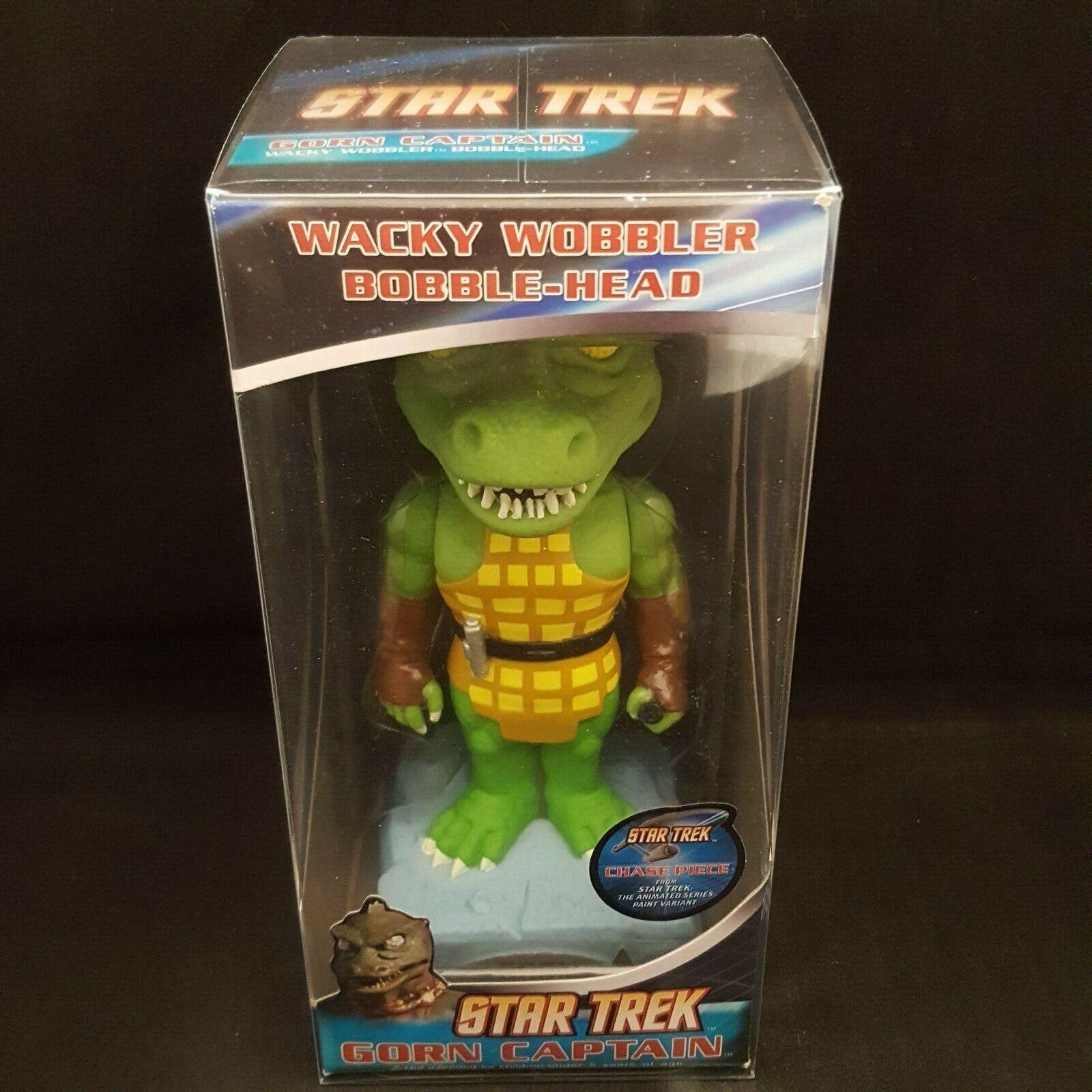 FUNKO Gorn capitán chase Star Trek Pieza WACKY WOBBLER BOBBLE HEAD + Prossoector