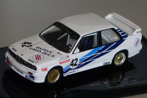 Bmw m3 e30 carro viajes WM Dijon 1987 cecotto #42 1:43 Ixo rac262 nuevo /& OVP