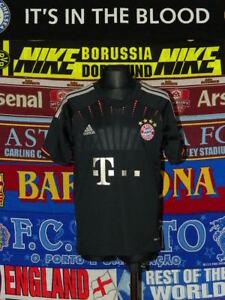 best website 666b8 c36b5 Details about 5/5 Bayern Munich boys 9-10 years 140cm away MINT football  shirt jersey trikot .