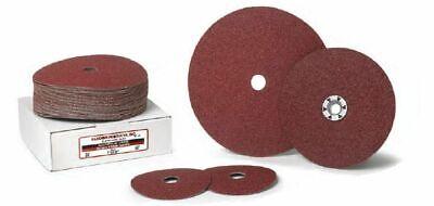 "60 Grit, 25 Pack Resin Fiber Grinding Discs Aluminum Oxide 4-1//2/"" x 7//8/"""