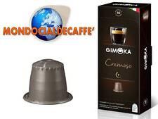 200 cialde capsule caffè gimoka miscela CREMOSO compatibili sistema nespresso