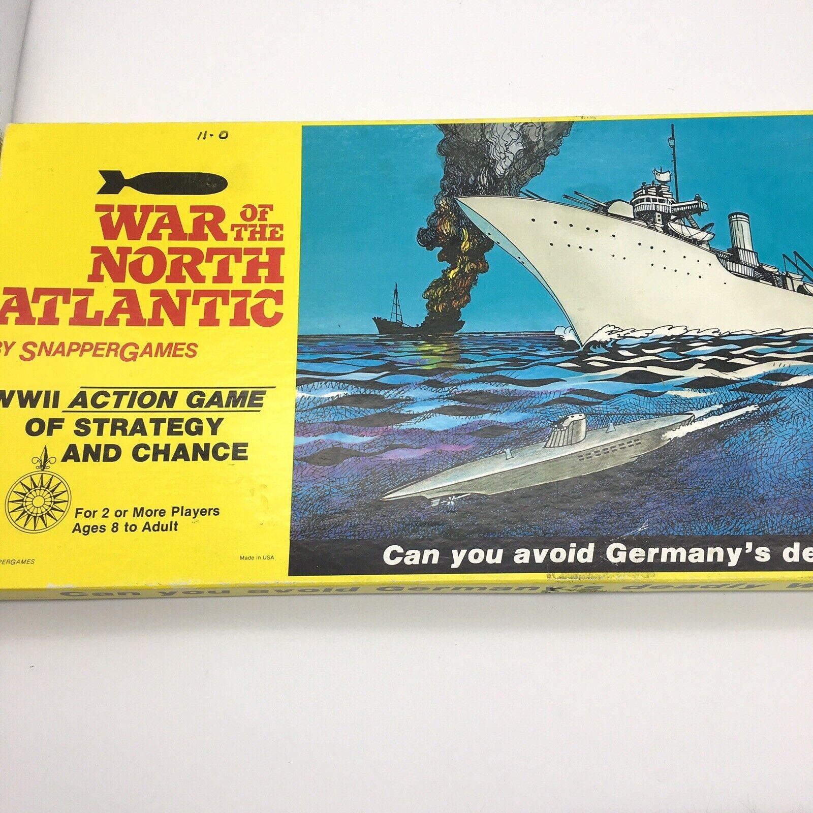 War of  the North Atlantic tavola gioco WWII strategy azione gioco by Snapper giocos  economico online