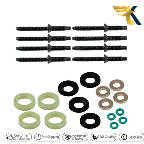 Fuel Injector Joint Rondelle O-Ring Kit pour CITROEN C4 1.6 HDI 2002 Sur