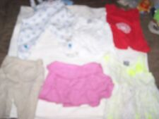6 Little Girls 2-3T+  Dress, Skirt, pants, 2 Shirt & Bunny outfit in Good Shape