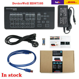 Devicewell Hds7105 Mini Switcher 4 Hdmi Video Switcher For Broadcast Live Stream Ebay