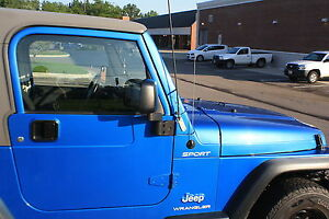 1997 Jeep Wrangler For Sale >> CB Antenna PASSENGER Windshield MOUNTING BRACKET 1997-2006 Jeep TJ Wrangler   eBay