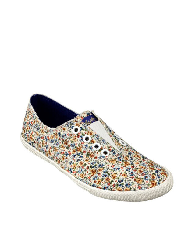 NIB GUESS Tucci Floral Printed Slip on Fashion Sneakers US 9, EU 39.5