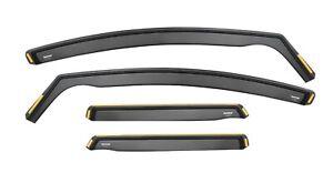 Wind Deflectors For VOLVO V50 Estate 5-doors 2004-2012 4-pc Wind Deflectors Tint