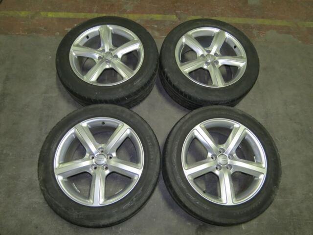 """Original Audi Q5 8R Aluradsatz 19"""" mit Reifen Dunlop A11692 8r0601025l"""