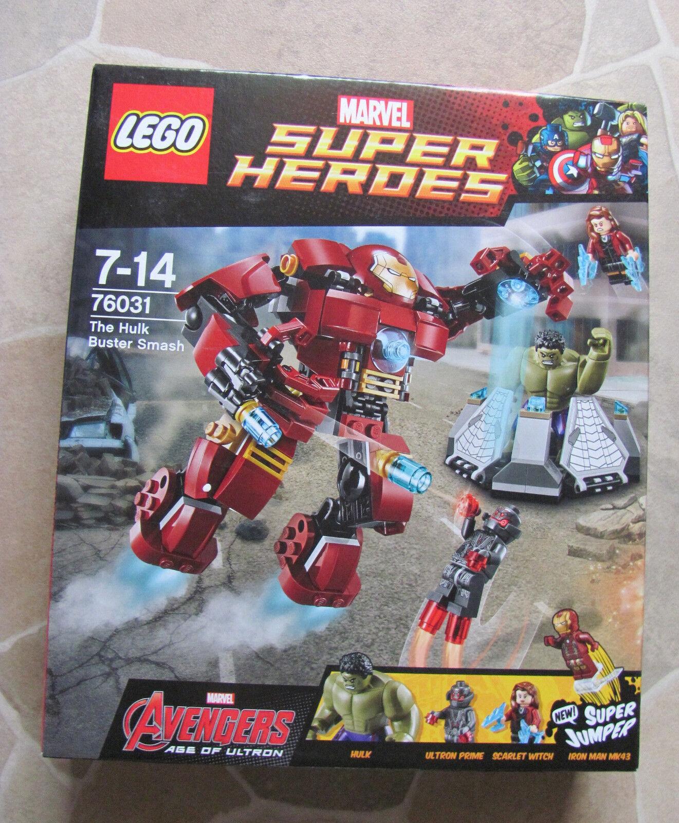 LEGO MARVEL SUPER HEROES 76031 Hulkbuster missione di soccorso NUOVO & OVP