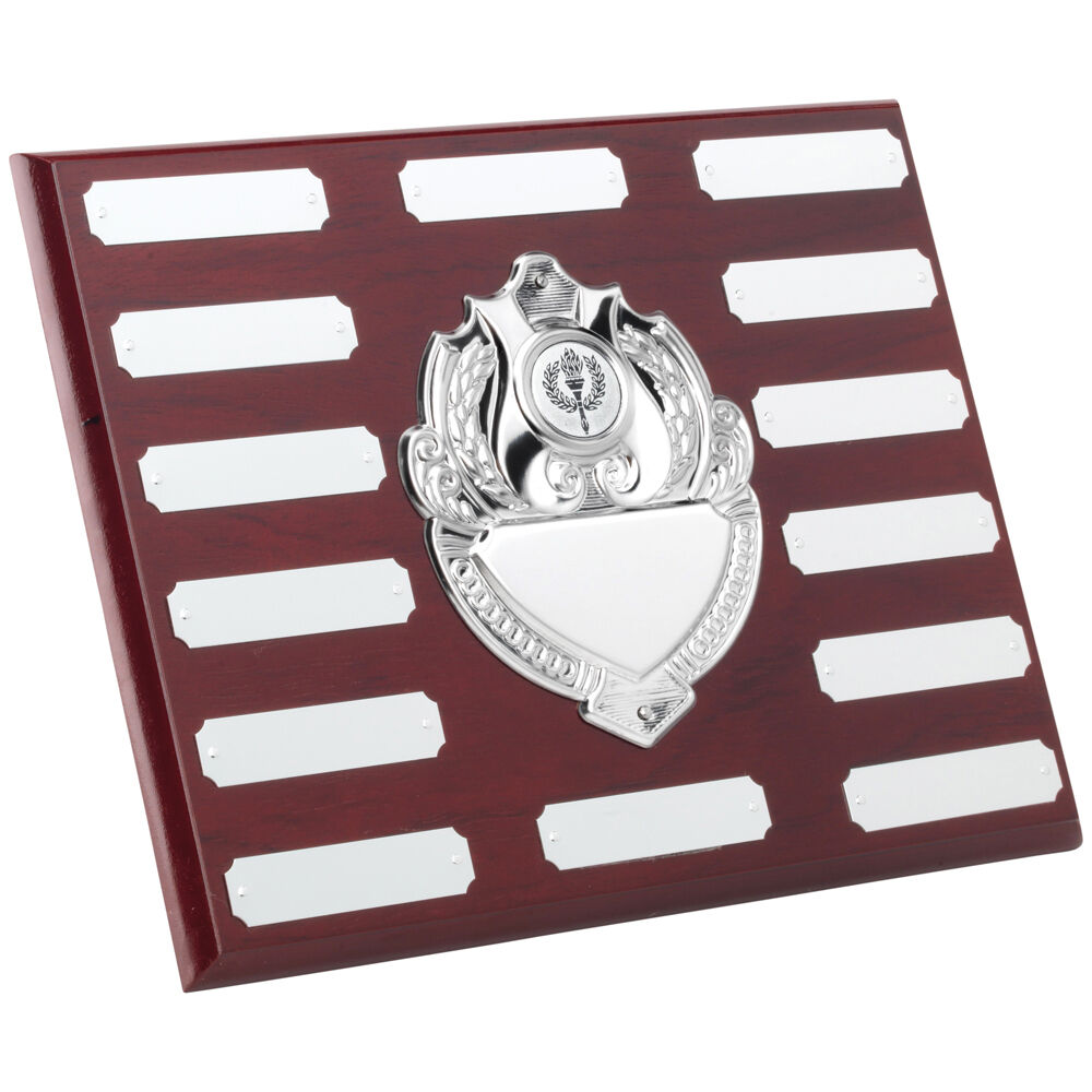 Annual,Perpetual Wooden Plaque, 254mm(w) x 203mm(h),FREE Engraving (TRS95C) td